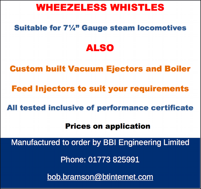 Wheezeless whistles